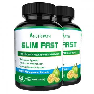 Nutripath Slim Fast - 2 Bottles