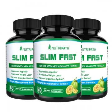 Nutripath Slim Fast - 3 Bottles