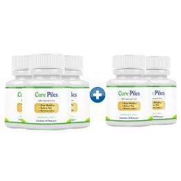 Cure Piles 3+2 Bottles (50 Capsules)