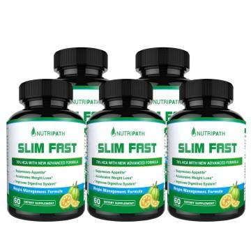 Nutripath Slim Fast - 5 Bottles