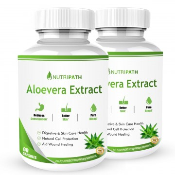 Nutripath Aloevera Extract -2 Bottle