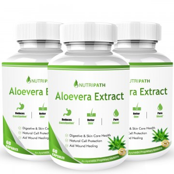 Nutripath Aloevera Extract -3 Bottle
