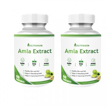 Nutripath Amla Extract 40% -2 Bottle
