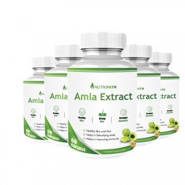 Nutripath Amla Extract 40% -5 Bottle