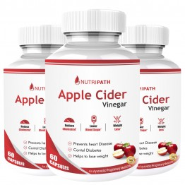 Nutripath Apple Cider Vinegar- 3 Bottle