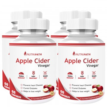 Nutripath Apple Cider Vinegar- 4 Bottle