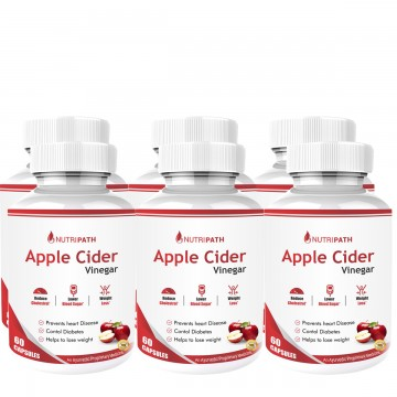 Nutripath Apple Cider Vinegar- 6 Bottle