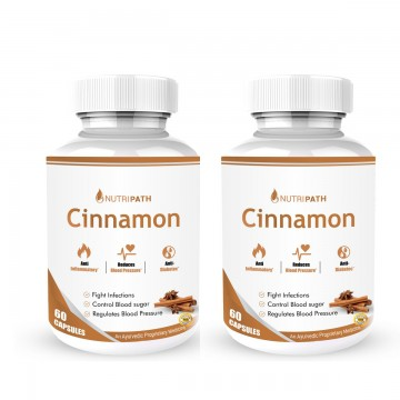 Nutripath Cinnamon Extract 20%- 2 Bottle