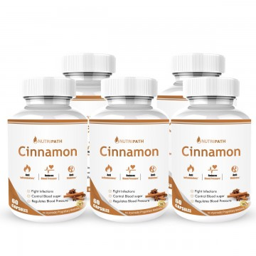 Nutripath Cinnamon Extract 20%- 5 Bottle