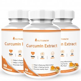 Nutripath Curcumin 60- 3 Bottle