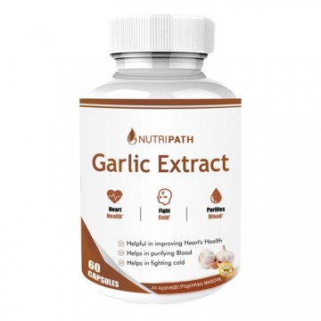 Nutripath Garlic Extract 2% Allicin-1 Bottle