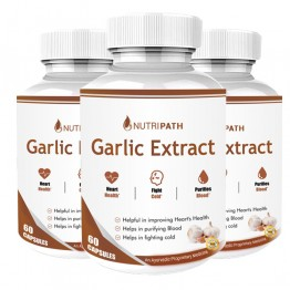 Nutripath Garlic Extract 2% Allicin-3 Bottle