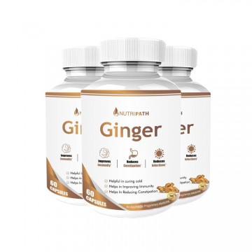 Nutripath Ginger Extract 5%- 3 Bottle