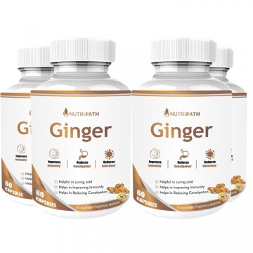 Nutripath Ginger Extract 5%- 4 Bottle