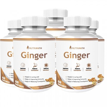 Nutripath Ginger Extract 5%- 5 Bottle