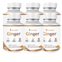 Nutripath Ginger Extract 5%- 6 Bottle