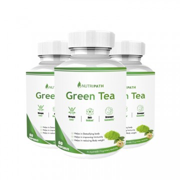 Nutripath Green Tea Extract- 3 Bottle