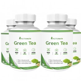 Nutripath Green Tea Extract- 4 Bottle