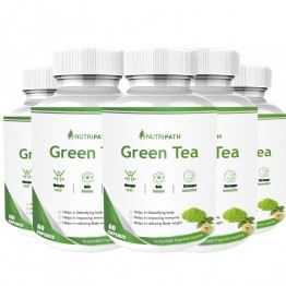 Nutripath Green Tea Extract- 5 Bottle
