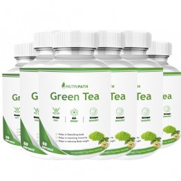 Nutripath Green Tea Extract- 6 Bottle
