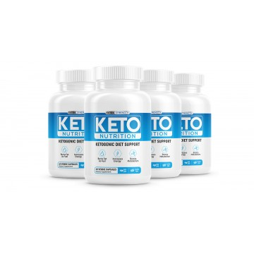 Keto Nutrition-4 bottles