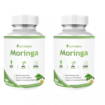 Nutripath Moringa Extract- 2 Bottle