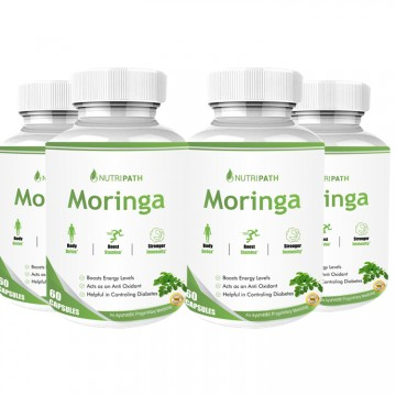 Nutripath Moringa Extract- 4 Bottle