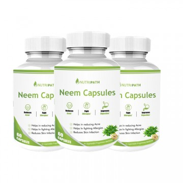 Nutripath Neem Extract 10% Bitter- 3 Bottle