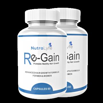 Nutralyfe Re-gain Growth - 2 Bottles
