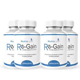 Nutralyfe Re-gain Growth - 4 Bottles