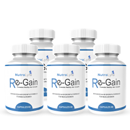 Nutralyfe Re-gain Growth - 5 Bottles