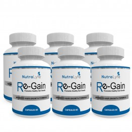 Nutralyfe Re-gain Growth - 6 Bottles