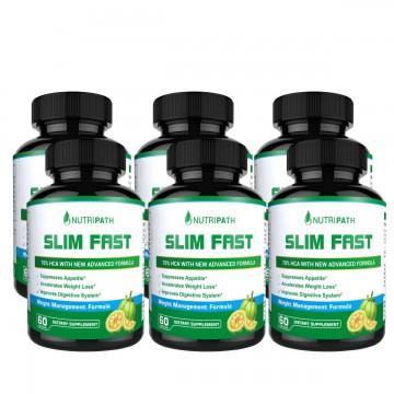 Nutripath Slim Fast - 6 Bottles