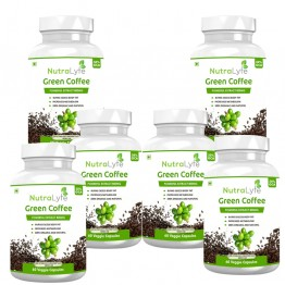 Nutralyfe Green Coffee - 6 Bottles