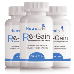 Nutralyfe Re-gain Growth - 3 Bottles