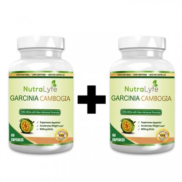 Nutralyfe Garcinia Cambogia Herbs - 2 Bottles
