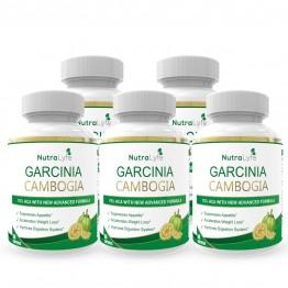 Nutralyfe Garcinia Cambogia Herbs - 5 Bottles
