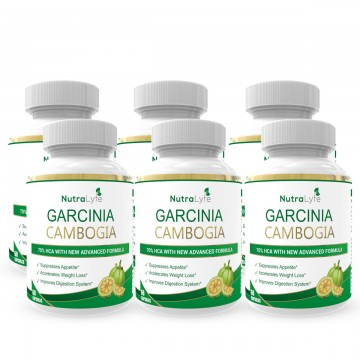 Nutralyfe Garcinia Cambogia Herbs - 6 Bottles