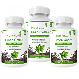 Nutralyfe Green Coffee - 3 Bottles