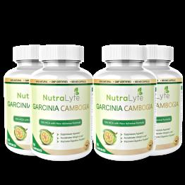 Nutralyfe Garcinia Cambogia Herbs - 4 Bottles
