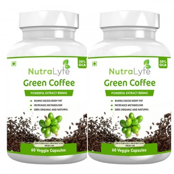 Nutralyfe Green Coffee - 2 Bottles