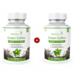 Nutralyfe Green Coffee BoGo Pack- Buy one get one free.