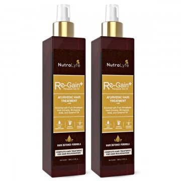 Nutralyfe Re-Gain Plus  Hair Oil - 2 Bottles
