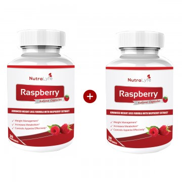 Nutralyfe Raspberry ketone BoGo Pack- Buy one get one free