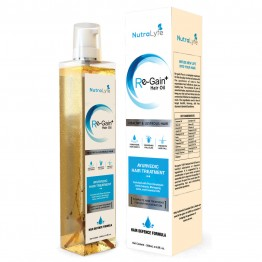 Nutralyfe Re-Gain Plus Hair Oil-1 bottle (200ML)